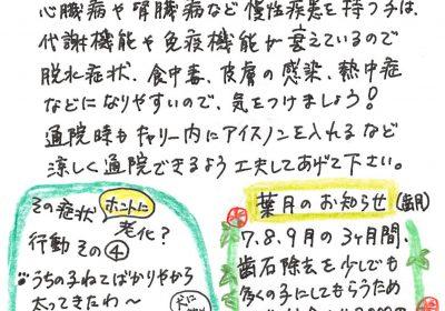 2018年8月度わんちゃん・ねこちゃんコラム(7歳以上)